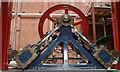 SD6909 : Bolton Steam Museum - double diagonal engine  by Chris Allen