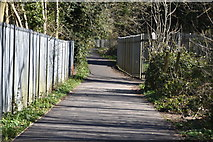 TQ6042 : Footpath to Knights Wood / Knights Park by N Chadwick