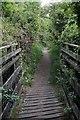 SO6414 : Footbridge by John Winder