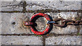 J5980 : Mooring ring, Donaghadee by Rossographer