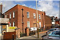SK6003 : Telephone Exchange, NW side Evington Road by Phil Richards