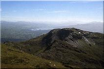 SH6643 : Moelwyn Bach as seen from the summit of Moelwyn Mawr by Colin Park