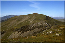 SH6544 : Moelwyn Mawr as seen from Moelwyn Bach by Colin Park