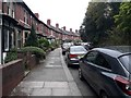 NZ2665 : Rosebery Crescent, Jesmond, Newcastle upon Tyne by Graham Robson