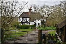 TQ6039 : Muxelwell Farmhouse by N Chadwick