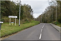TQ5639 : Entering Rusthall, Rusthall Rd by N Chadwick
