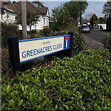 SZ0896 : Northbourne: Greenacres Close by Chris Downer