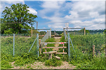 TQ2251 : Church Level Crossing by Ian Capper