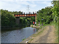 SE3521 : Harrisons Bridge over the Aire and Calder Navigation by Stephen Craven