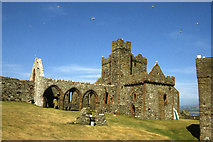 SC2484 : Peel - Castle & ruined Cathedral by Colin Park