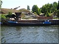 SO8639 : Barge on the River Severn  by Philip Halling
