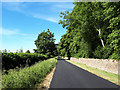 SP1605 : Road to Hatherop alongside Williamstrip Park by Vieve Forward