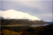 NN3268 : Over Loch Treig from the slopes of Sròn nan Gall by Richard Law