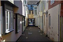 ST0207 : Cullompton : Bakers Mews by Lewis Clarke