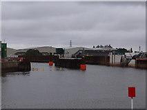 TF3242 : The Boston Barrier - channel open 1st June 2020 by Ian Paterson