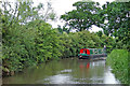 SK1511 : Coventry Canal south of Fradley in Staffordshire by Roger  Kidd