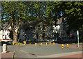 SX9164 : Cones at the coach station, Torquay by Derek Harper