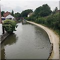 SP2965 : Works on the Grand Union Canal, Emscote, Warwick by Robin Stott