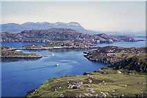 NB9607 : Above Acairseid Mhòr, Tannara Beag by Julian Paren