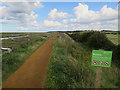 TG0044 : Norfolk coast path from Morston by Hugh Venables