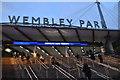 TQ1986 : Wembley Park Underground Station by N Chadwick