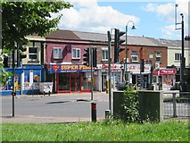SU4212 : Local shops - St Mary's Road by Sandy B