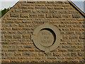 SE2437 : Beck House, Hawksworth Road - datestone by Stephen Craven