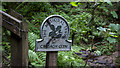 J3670 : Sign, Cregagh Glen by Rossographer