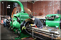 SJ6799 : Leigh Spinners no. 2 Mill - restoration in progress by Chris Allen