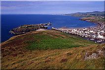 SC2484 : St. Patrick's Isle & Peel Bay by Ian Taylor