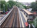 SE2735 : Burley Park railway station by Stephen Craven