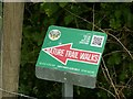 SK7244 : Nature trail walks sign by Alan Murray-Rust