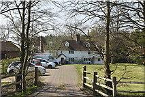TQ6143 : Castle Hill Farmhouse by N Chadwick