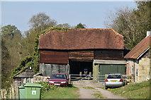 TQ5740 : Barn, Smockham Farm by N Chadwick