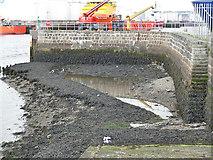 NJ9505 : Slipway, Aberdeen Tidal Harbour by Stephen Craven