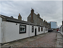 NJ9505 : Houses on South Square, Footdee, Aberdeen by Stephen Craven