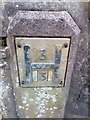 SH6067 : Hydrant marker on the B4409, Tregarth by Meirion