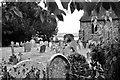 SO7008 : Gravestones at St Andrew's Church by John Winder
