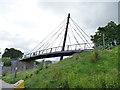 NJ9304 : The old Deeside line, bridge over Holburn Street (side) by Stephen Craven
