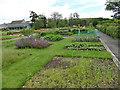 NJ9404 : Duthie Park: herb garden by Stephen Craven