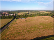 SU4915 : Site of One Horton Heath development by Peter Facey