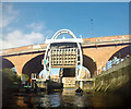 NZ2664 : The Ouseburn barrage by Andy Waddington
