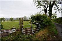 H5472 : Gate along Roeglen Road by Kenneth  Allen