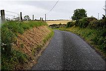 H5572 : A bend along Roeglen Road by Kenneth  Allen