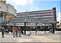TG2309 : Anglia Square Shopping Centre - the square by Evelyn Simak
