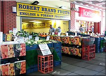 TG2309 : Robert Brand Fruits at the Anglia Square shopping centre by Evelyn Simak