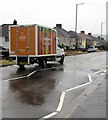 ST3090 : Sainsbury's home delivery van, Malpas Road, Newport by Jaggery