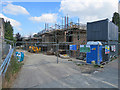 TL4856 : Cherry Hinton: building work by John Sutton
