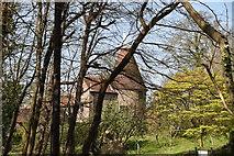 TQ5642 : Bentham Farm Oast by N Chadwick