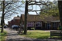 TQ5841 : Southborough Library by N Chadwick